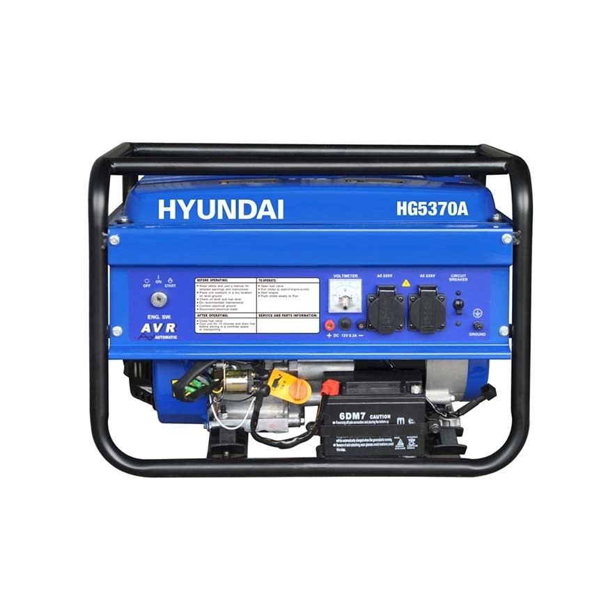 موتور برق بنزینی هیوندای HG5370