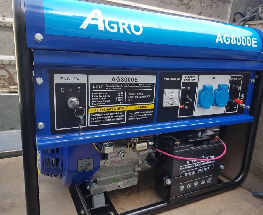 موتور برق 6 کیلو وات آگرو بنزینی