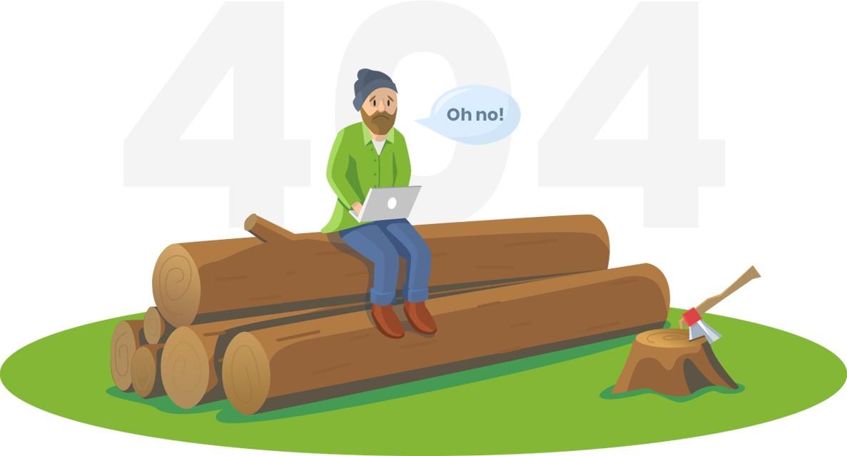 برگه 404 سفارشی