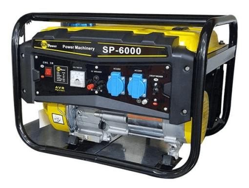 موتور برق سان پاور 3 کیلو وات مدل  sp6000 | هندلی