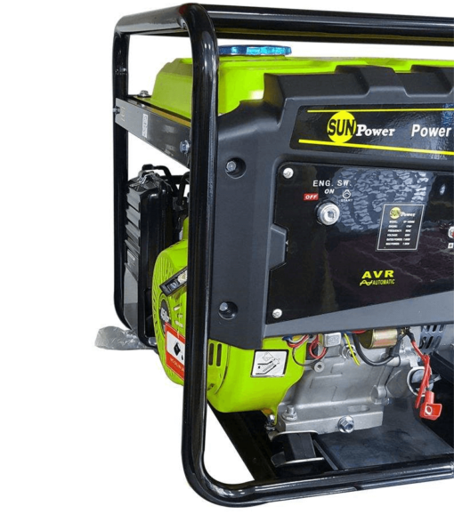 موتور برق سان پاور مدل SP 10500 بنزینی 7.5 کیلووات