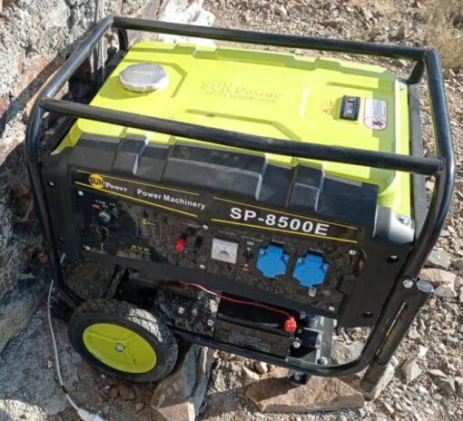 موتوربرق سان پاور مدل SP 8500 بنزینی 5.5 کیلووات