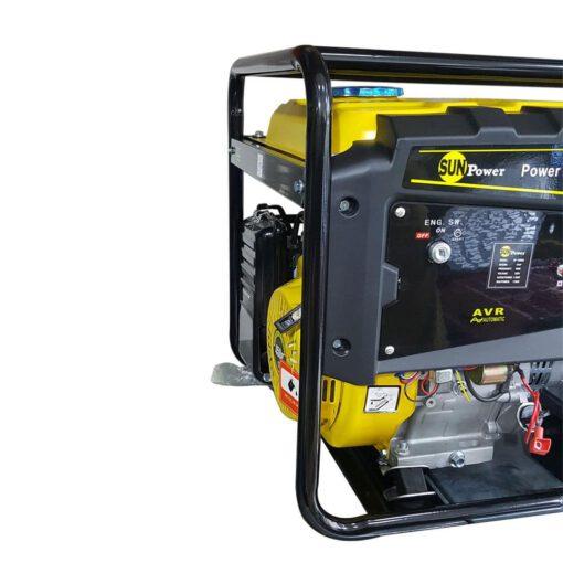 موتوربرق سان پاور مدل SP9500 بنزینی 6.5 کیلووات