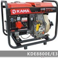 موتور برق گازويلی کاما KDE8800E/E3