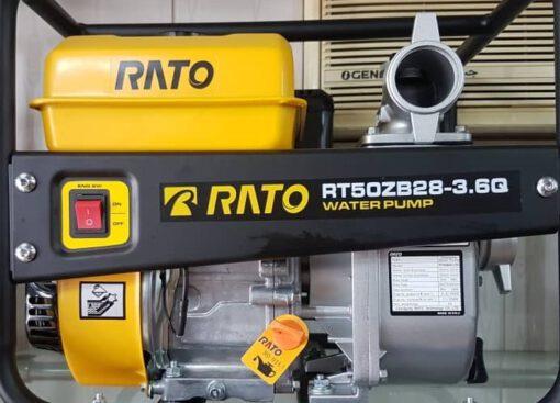 موتور پمپ بنزینی راتو 3 اینچ مدل RT80ZB28