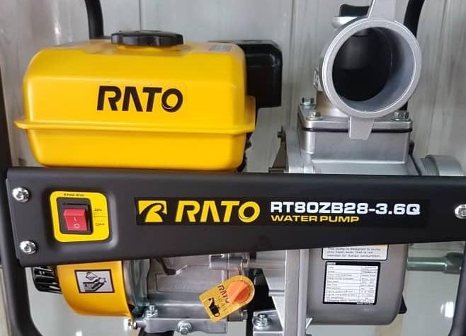 موتور پمپ RATO دیزلی 3 اینچ مدل RT80ZB28-3