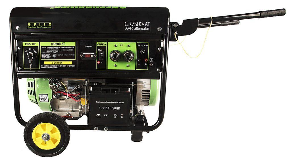 انتخاب موتور برق مناسب از لحاظ نوع سوخت