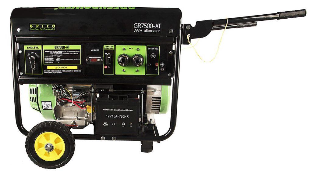 ژنراتور بنزینی GR7500-AT