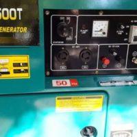 موتور برق گازوئیلی کاما بهمراه کانوپی کم صدا مدل KDE6500e T