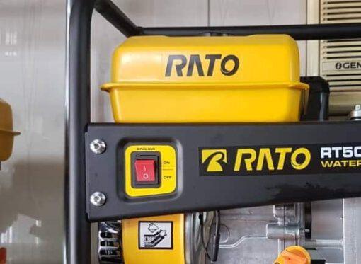 موتور پمپ بنزینی راتو 2 اینچ  مدل RT50ZB28