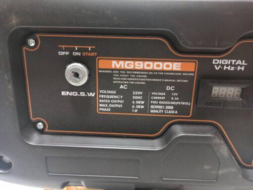موتور برق بنزینی 6.5 کیلووات ای تی کیو مدل MG9000E