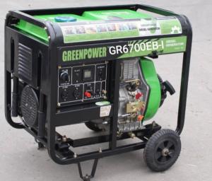 موتور برق گازوئیلی گرین پاور
