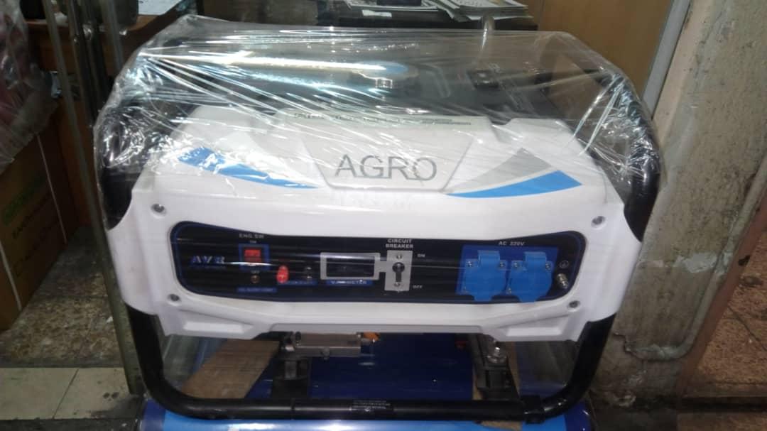 موتور برق بنزینی 3.2 کیلو وات آگرو مدل AG3800B بهمراه چرخ و دسته