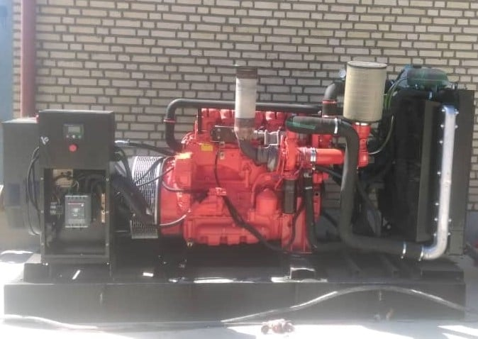 ژنراتور اسکانیا در حد نو 200 کاوا | پایه گازسوز | مقرون بصرفه در ایران