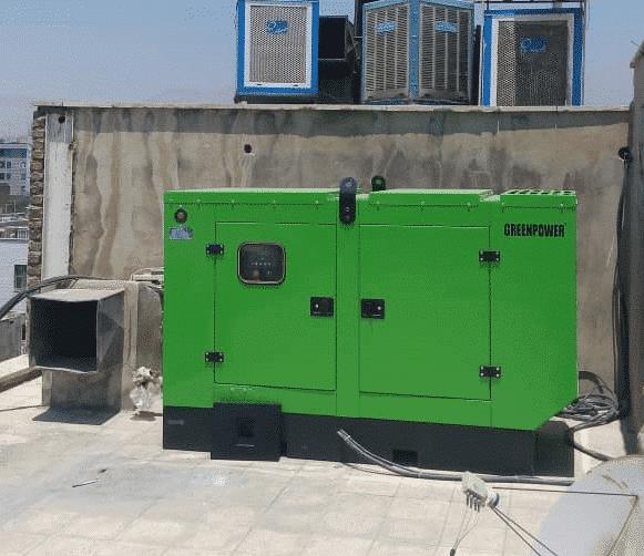 ژنراتور گازسوز 35 کاوا   موتور برق گازسوز   اضطراری بهمراه تابلو اتوماتیک