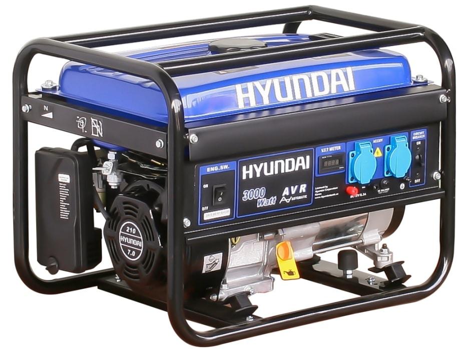 موتور برق 3 کیلو وات هیوندای استارتی مدل hg5370 با تخفیف ویژه