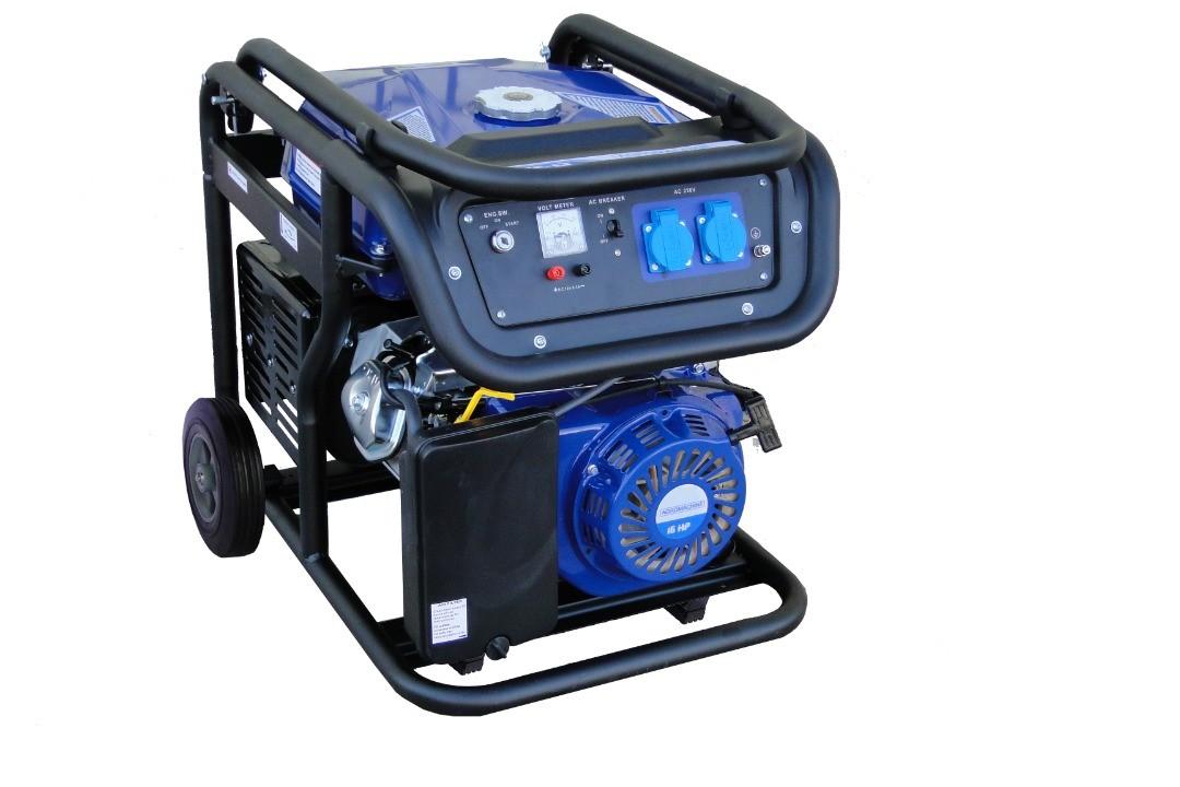 موتور برق بنزینی 3.2 کیلو وات آگرو مدل AG3800LT بهمراه چرخ و دسته