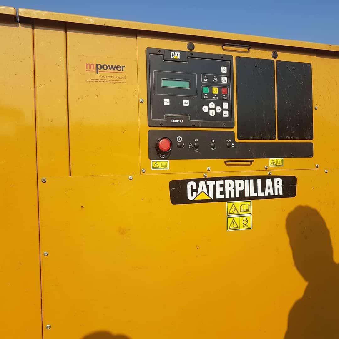 ژنراتور گازسوز کاترپیلار با توان 1 مگاوات