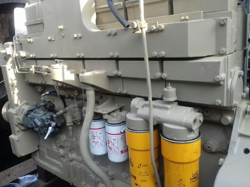 دیزل ژنراتور کامینز ۴۰۰ کاوا تیپ KT 11 | دست دوم