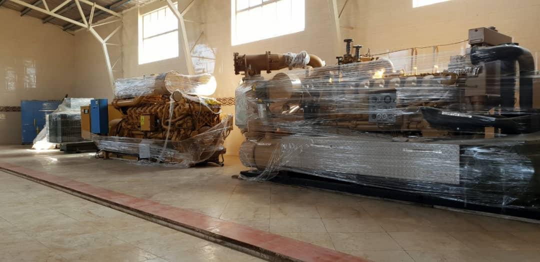 ژنراتور گازسوز کاترپیلار 1.5 مگاوات دست دوم