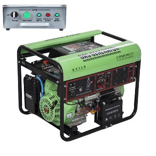موتور برق اتوماتیک گازسوز گرین پاور مدل CC5000AT-NG-LPG