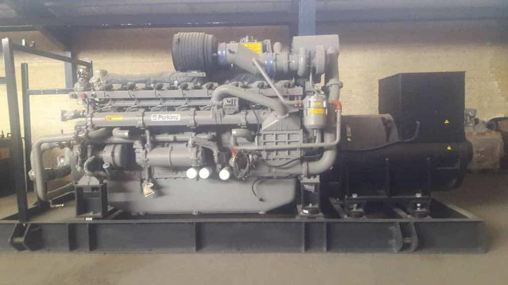 ژنراتور گازسوز پرکینز انگلیس   1 مگا وات   دائم کار