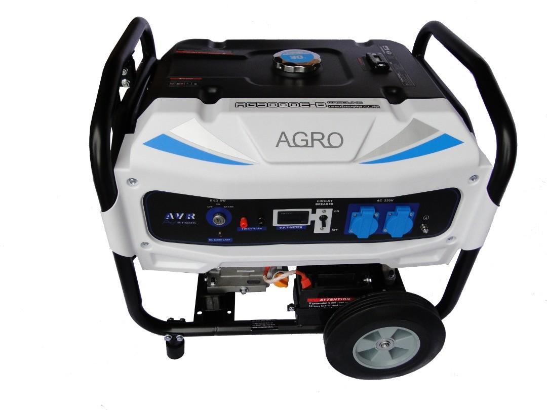 موتور برق بنزینی 6.5 کیلووات آگرو مدل AG8000B