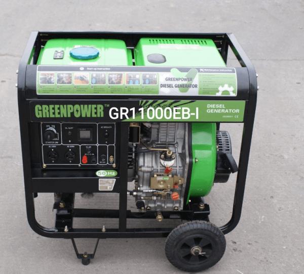 موتور برق دیزلی گرین پاور 8.8 کیلووات مدل GR11000EB-I