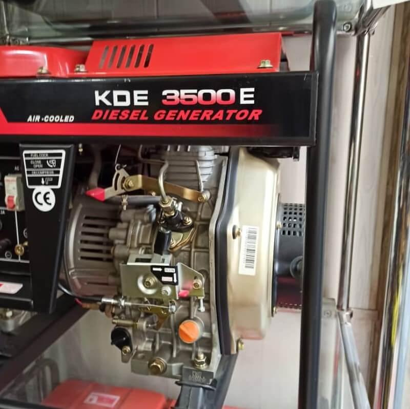 موتور برق گازوئیلی کاما 3500 | 3 کیلووات استارتی بدون چرخ و دسته