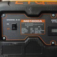 موتور برق 1.2 کیلووات ETQ بنزینی مدل MG1600 هندلی بهمراه تثبیت کننده ولتاژ