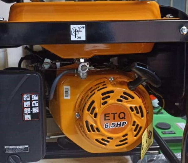 موتور برق 2.3 کیلووات ETQ بنزینی مدل MG3000 هندلی