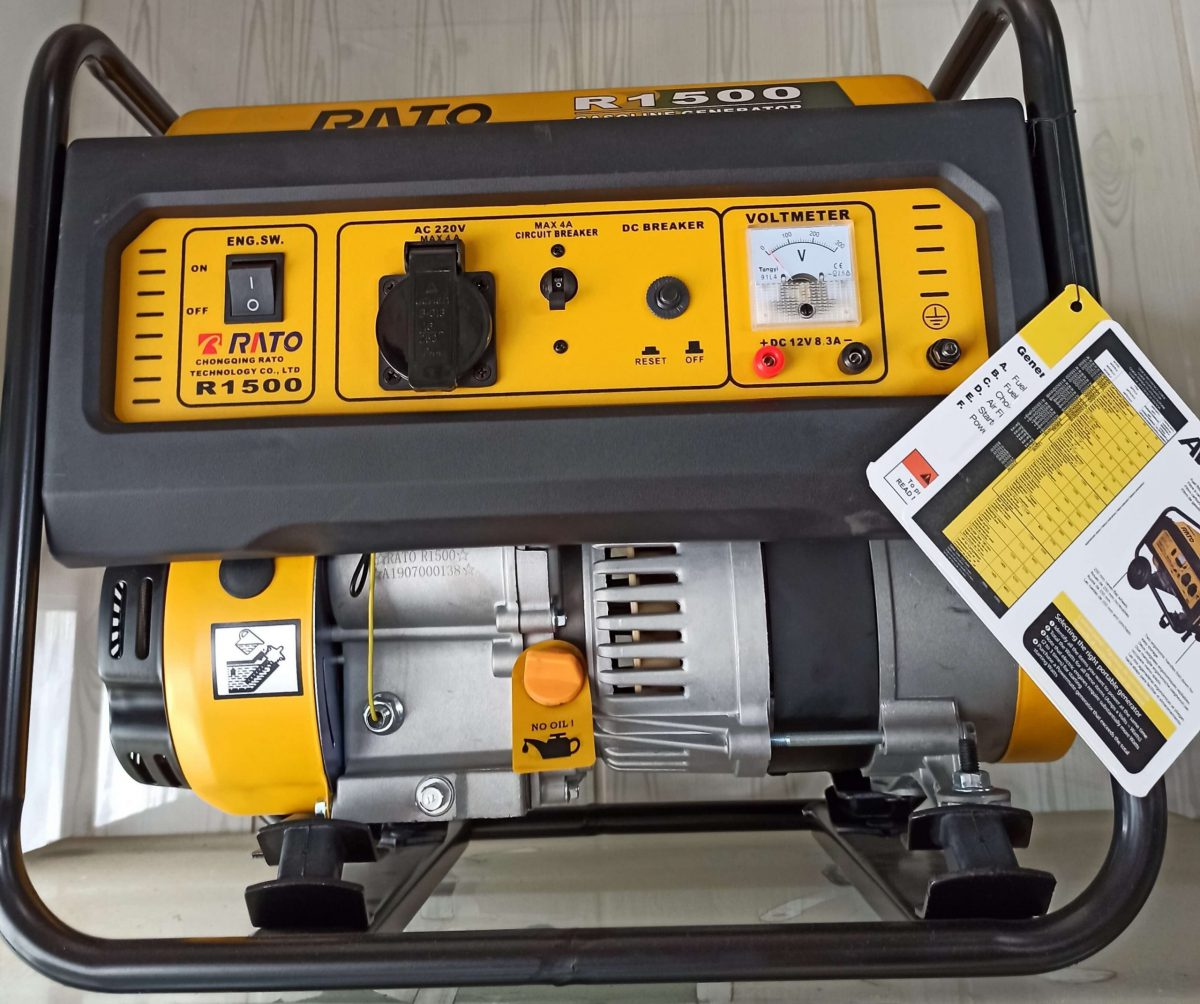 موتور برق راتو 1500 | بنزینی | 1 کیلووات | RATO R1500