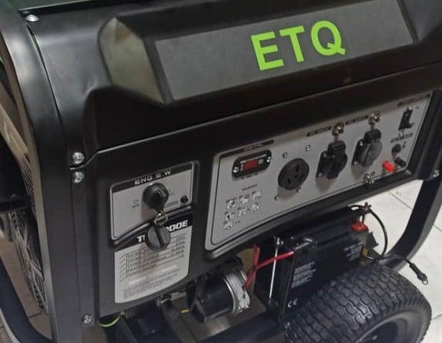 موتور برق بنزینی ای تی کیو 11 کیلووات مدل ETQ TG15900 | تک فاز