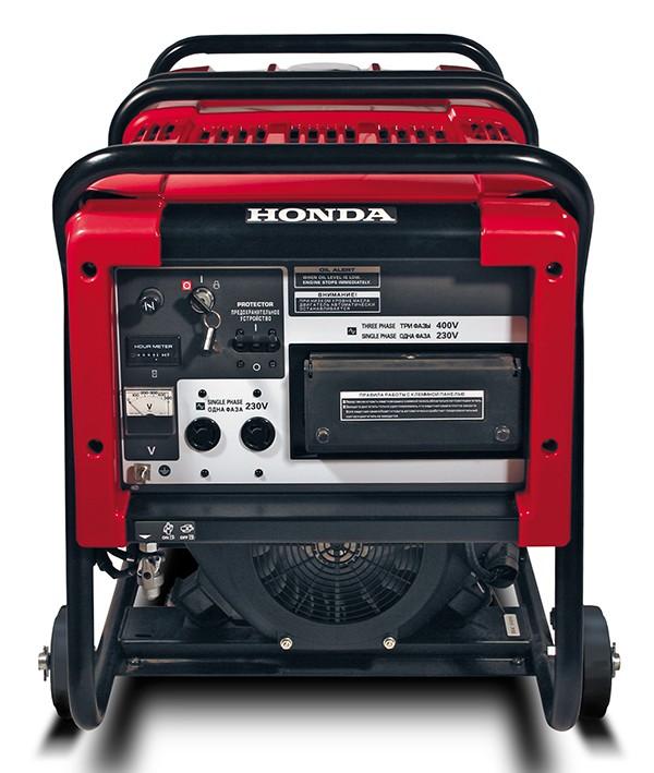 موتوربرق هوندا مدل ET12000 | دو سیلندر چهار زمانه بنزینی