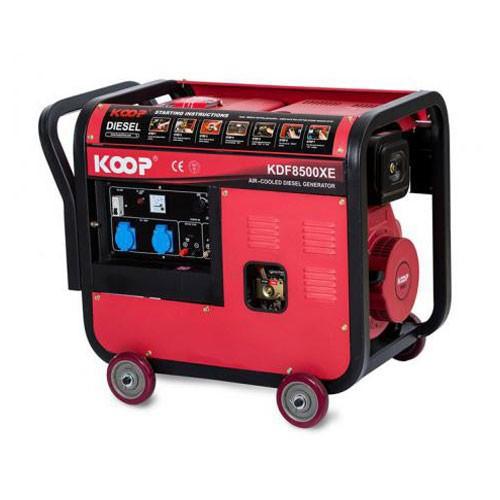موتوربرق گازوئیلی کوپ KDF8500-XE