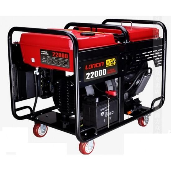 موتوربرق بنزینی لانسین LC22000(1ph)