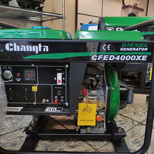 موتوربرق گازوئیلی چانگفا CFED4000XE
