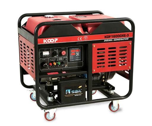 موتوربرق کوپ مدل KDF16000-MXE
