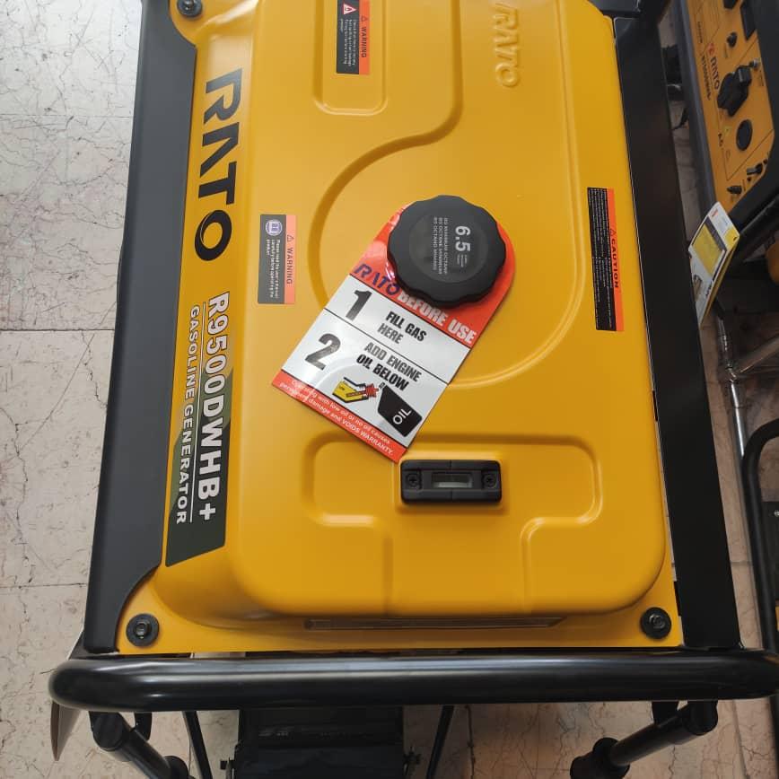 موتور برق بنزینی 7 کیلووات راتو R9500DWHB+