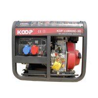 موتوربرق گازوئیلی کوپ KDF11000XE-3D